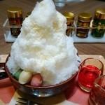 41025732 - かき氷:濃縮紫蘇シロップ&万願寺ジャム