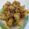 白垣かしわ専門店 - 料理写真:骨無しからあげ1パック390円、やや小ぶりに食べやすく揚げられた味付け唐揚げです。