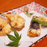 神楽坂 和食 千 - 揚物 <一例>