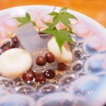 神楽坂 和食 千 - 甘味 <一例>