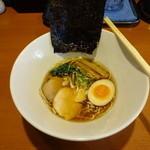 麺's 菜ヶ蔵 - 新得地鶏醤油・ミニラーメン(笑)