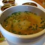 41027941 - 海南チキンライスのスープを雑炊にして