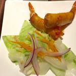 タイレストラン タニサラ - エビの揚げ春巻