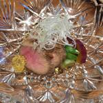 猪之鼻庭 - 夏鴨ロース煮と夏野菜/1200円