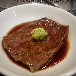 焼肉の金海 - ☆わさび醤油でパクリ(^u^)☆