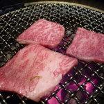 焼肉の金海 - ☆ジューシーですね!(^^)!☆