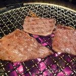 焼肉の金海 - ☆塩で食べるのもOKですね(*^^)v☆
