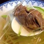 たんや善治郎 - テールスープ