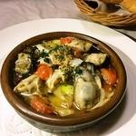 リベルテ - 本日のアヒージョ(こちらは、牡蠣です)