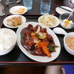 41031597 - 酢豚定食