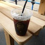 ボールパーク コーヒー - 本日のコーヒー アイスで