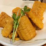41033079 - トウモロコシの天ぷら