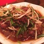 赤だるま - 料理写真:レバニラめっちゃ食べやすい!