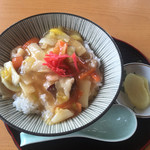 Neyafisshingupakutaikoubou - 中華丼¥500