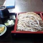 41035167 - ざる蕎麦 大盛り700円