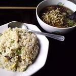 41035412 - チャーハンと醤油ラーメン(小)