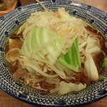 麺処直久 - とんさい醤油大盛り(830円)