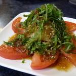 大喜園 - トマトサラダ