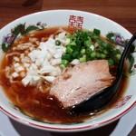 担担麺専門店 DAN DAN NOODLES. ENISHI - 「煮干し中華そば+替え玉」850円