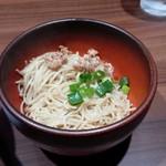 担担麺専門店 DAN DAN NOODLES. ENISHI - 替え玉
