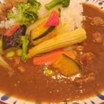 41037936 - チキンと彩り野菜カレー