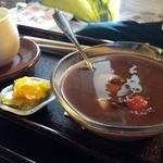 円山茶寮 - 冷やし汁粉