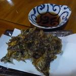 正栄丸 - 「生もずくの天ぷら」(¥420)