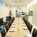 アロマティエ - 宴会貸切りテーブル配置の一例