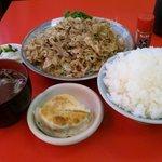 4104673 - 朝鮮焼ライスご飯大盛(+50円)