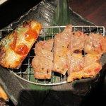 41042522 - ハーブ三元豚の塩麹焼き&鯖炙り焼き(咲くら御膳)