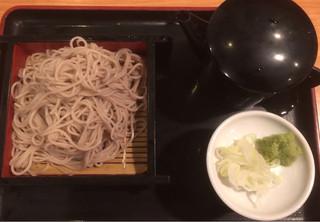 夢やぐら 西武新宿駅前店 - 仕上げ蕎麦 400円