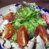 旬魚島酒 まぁやぁ - 料理写真:豚しゃぶとゴーヤーとスーナのサラダ 800yen
