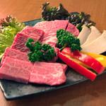 焼肉ダイニング 希らら亭 - 宮崎牛特選3品セット