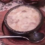 41046252 - 小海老とマッシュルーム、モッツアレラチーズのアヒージョ