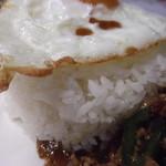 アナンタヤ - 米はタイ米のようだが