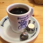 コメダ珈琲店 - ブレンドコーヒー