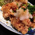 うまいもん 誠三朗 - 唐揚げ定食[おろしポン酢](780円)を頂きました。