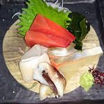 山人昔楼 - その日仕入れた鮮魚のお刺身
