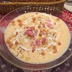41049508 - じゃが芋とベーコンの冷たいポタージュスープ
