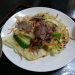 ゑびすや - 野菜炒め 2015年8月