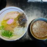 麺の坊 晴天 - 甘辛冷製つけ麺(激辛)