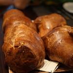 41052335 - 中が空洞のパン 内皮が甘くておいしい