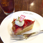 赤レンガカフェ - タルトフレーズ ¥513