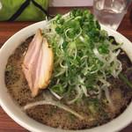 麺の房 味わい亭 - ねぎラーメン ¥756