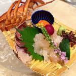 日本料理  なかの - 伊勢海老懐石3 セレクト料理1 セレクト料理2写真撮り忘れた小鍋にしました
