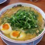 41057138 - 「極濃鶏白湯ラーメン+大盛+半熟味玉」1,102円