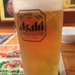 しちりんや - 生ビール
