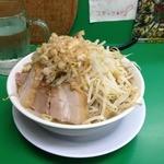 ラーメン つけ麺 今を粋ろ - ラーメン(700円)野菜増し上から