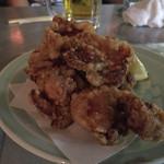 三河屋 - 料理写真:鳥のから揚げ。