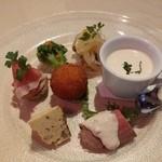 トラットリア・イタリア - 前菜
